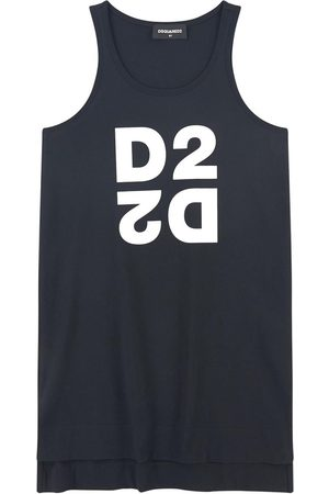 Dsquared2 Kids Sale - Logo tank top - Girl - 6 Years - - Tanks and vests