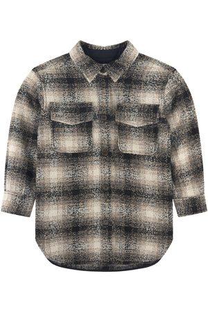 Designers Remix Sale - Checkered Jacket Beige - 10 Years - - Biker jackets