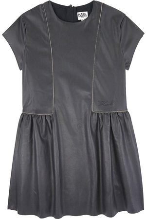 Karl Lagerfeld Girls Dresses - Kids Sale - Faux Leather Dress - Girl - 4 Years - - Party dresses