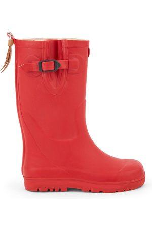 Aigle Rain Boots - Kids - Cherry pink rain boots - Woody Pop - Unisex - 24 EU - - Wellingtons