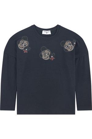 MONNALISA Sale - Printed T-shirt - Girl - 4 years - - Long sleeved t-shirts