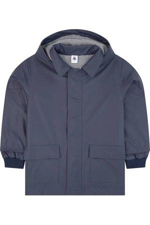 Petit Bateau Boys Sports Jackets - Iconic oilskin - Boy - 3 years - Navy - Windbreakers
