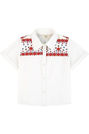 Derhy Kids Sale - Embroidered shirt - Unisex - 4-6 Years - - Blouses