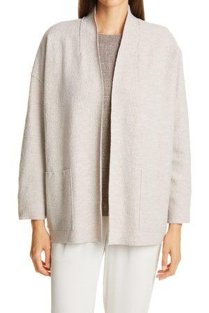 Eileen Fisher Women's Lightweight Boiled Wool Jacket
