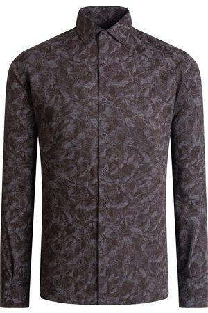 Bugatchi Men's Floral Button-Up Shirt