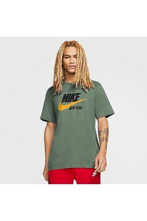Nike Men's Sportswear New York Template T-Shirt in Size Large 100% Cotton