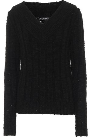 Dolce & Gabbana Women Sweaters - Off-shoulder wool-blend sweater