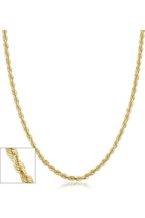 SuperJeweler 14K (9.60 g) 3.8mm Hollow Rope Chain Necklace