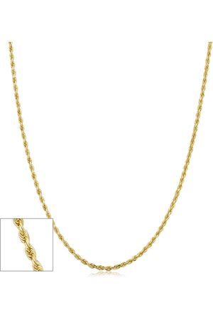 SuperJeweler 14K (1.50 g) 1.6mm Hollow Rope Chain Necklace