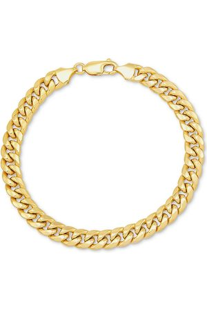 SuperJeweler 14K (18 g) 9.3mm Miami Cuban Chain Bracelet