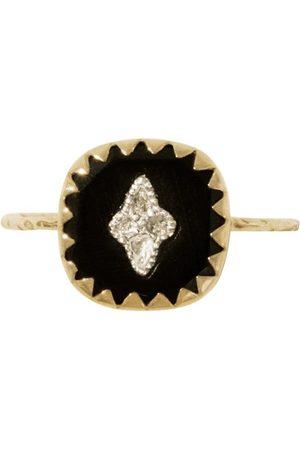 Pascale Monvoisin Women Rings - PIERROT RING BLACK T.50
