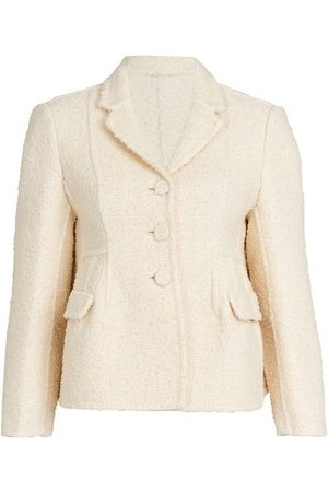 Marc Jacobs Boucle Shaped Jacket