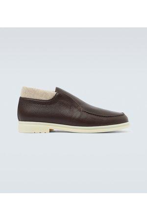 Loro Piana Open Wintery Walk ankle boots