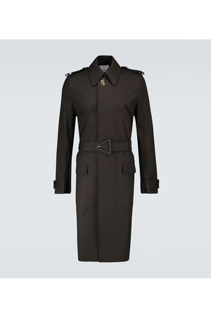 Bottega Veneta Waterproof cotton trench coat