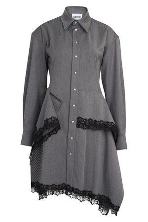 KOCHÉ Women Midi Dresses - Buttoned dress