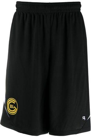Balenciaga Soccer logo-print shorts