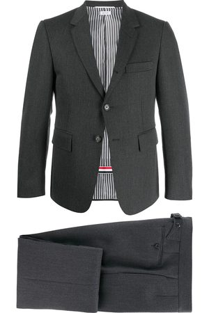 Thom Browne Men Suits - Two-piece cavalry twill formal suit - Grey