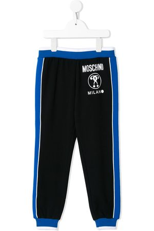 Moschino Logo-print track trousers
