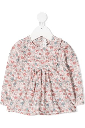 BONPOINT Baby Blouses - Floral cotton blouse