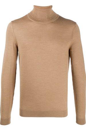 HUGO BOSS Men Turtlenecks - Roll neck virgin wool jumper