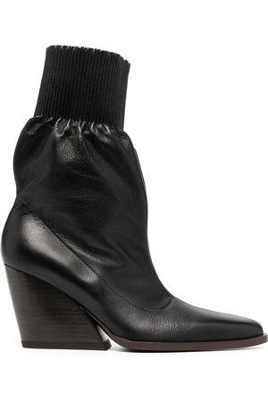 Kenzo Slip-on stacked heel boots