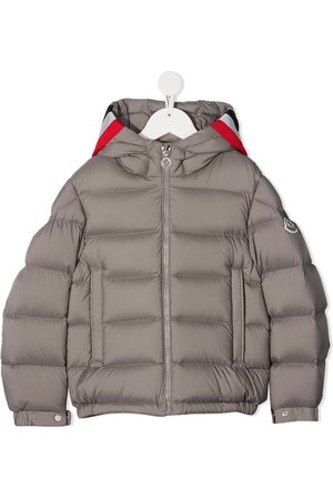 Moncler Boys Puffer Jackets - Sorue padded down jacket - Grey