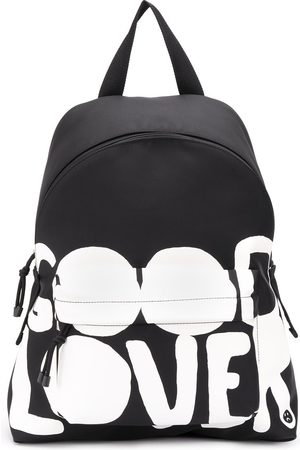 VALENTINO GARAVANI Lovers Language printed backpack