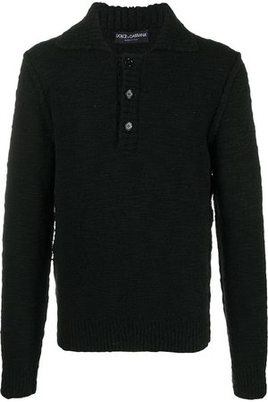 Dolce & Gabbana Knitted polo-style jumper
