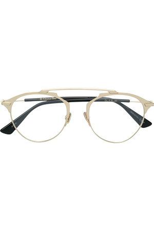 Dior So Real O glasses - Metallic