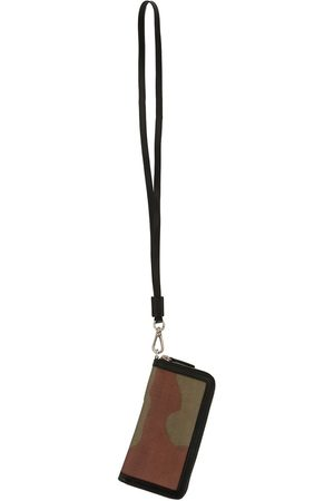 Ports V Abstract-print hanging cardholder - Multicolour