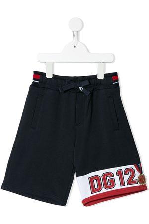 Dolce & Gabbana Logo-print track shorts