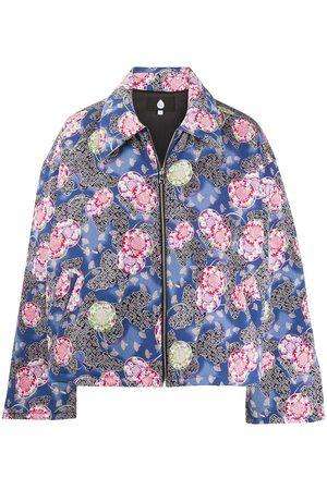 DUOltd Jacquard padded jacket
