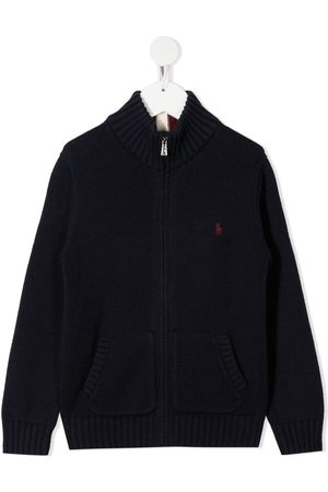 Ralph Lauren Zip-up knit jumper