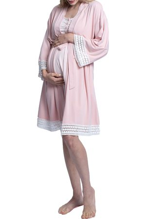 Angel Maternity Women's Hospital Pack Nursing Nightgown
