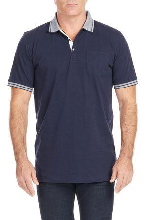 Johnny Bigg Men Polo Shirts - Men's Big & Tall Pedro Tipped Polo Shirt