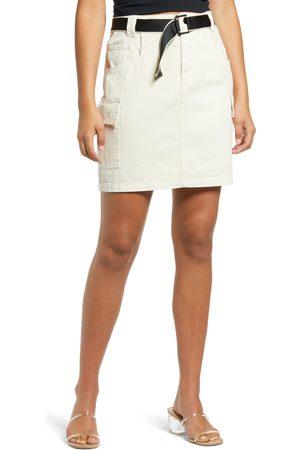 Vero Moda Women's Afra Cargo Denim Miniskirt