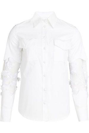 Thebe Magugu Lace shirt