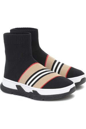 Burberry Icon Stripe sock sneakers