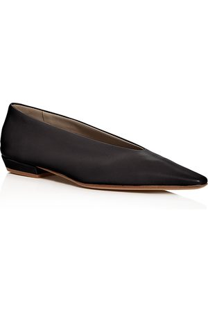 Bottega Veneta Women's Square-Toe Flats