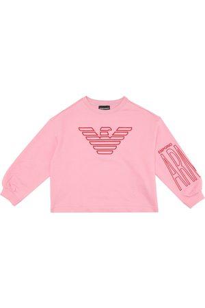 Emporio Armani Cotton-blend sweatshirt