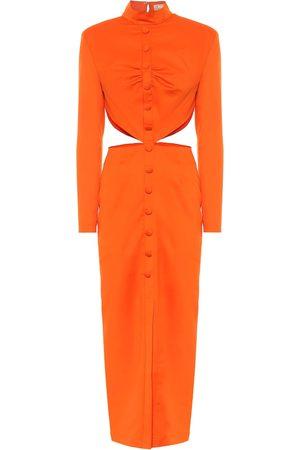 Matériel Tbilisi Wool twill maxi dress