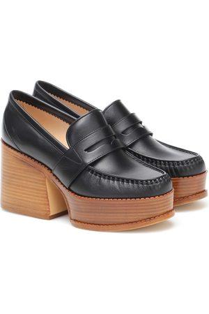 GABRIELA HEARST Augusta leather loafer pumps