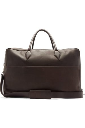 Métier Closer Leather Holdall - Mens