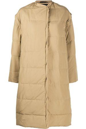 Givenchy Oversize padded coat - Neutrals
