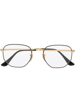 Ray-Ban Two-tone hexagonal frame glasses