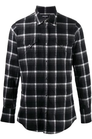 Dsquared2 Slim-fit checked shirt