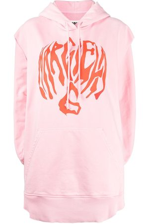 MM6 MAISON MARGIELA Women Tank Tops - Oversize sleeveless hoodie