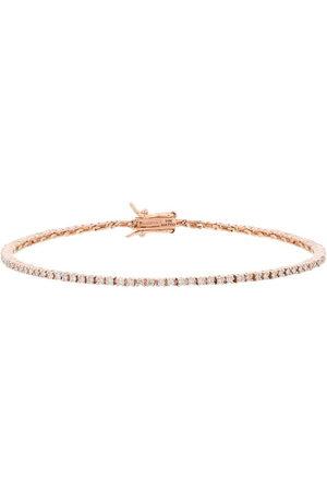 Mateo 14K rose gold diamond tennis bracelet