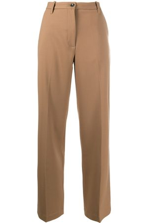 Nine In The Morning High-rise trousers - Neutrals