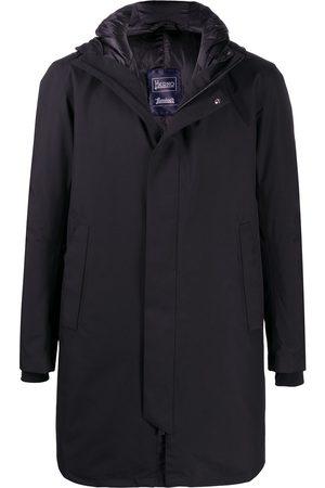 HERNO Toggle-fastening hood padded coat